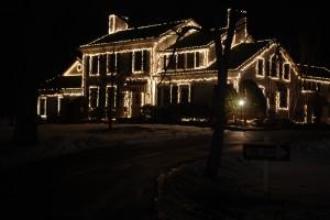 światła świąteczne