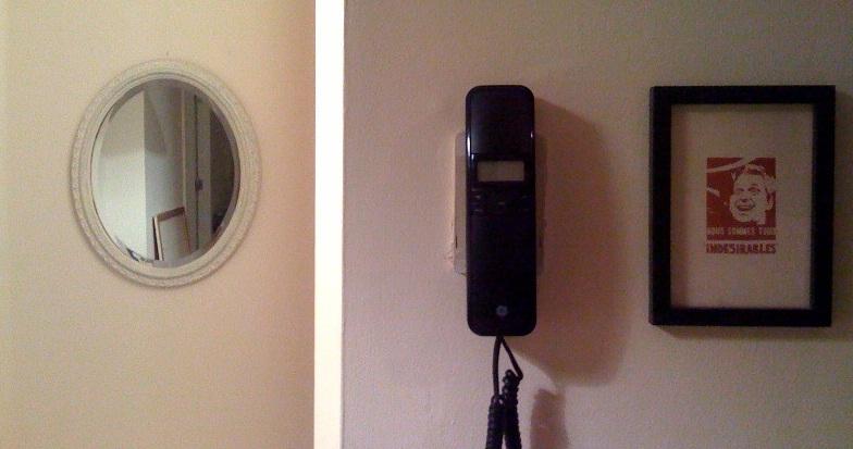 Słuchawka tradycyjnego domofonu